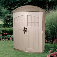 LifeScapes Highboy Plastic Tool Shed