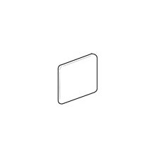 "Castle De Verre 6"" x 6"" Corner Bullnose in Regal Rouge"