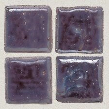 "Sonterra Collection 12"" x 12"" Iridescent Mosaic Tile in Purple"