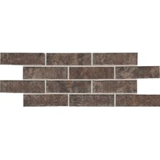 "Union Square 3-7/8"" x 8"" Paver Field Tile in Cobble Brown"