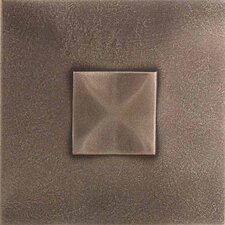 "Urban Metals 2"" x 2"" Geo Decorative Dot in Bronze"
