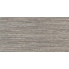 "Fabrique 12"" x 24"" Unpolished Field Tile in Gris Linen"