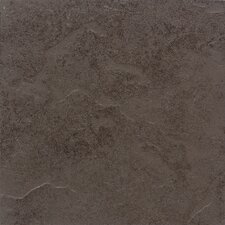 "Cliff Pointe 12"" x 12"" Porcelain Field Tile in Earth"