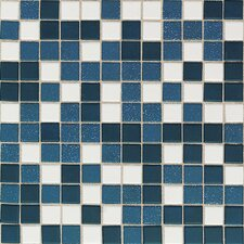 "Keystones Blends 12"" x 24"" Plain Porcelain Mosaic Tile in Horizon"