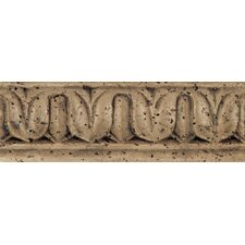 "Fashion Accents 8"" x 3"" Romanesque Decorative Listello in Balota Noce"