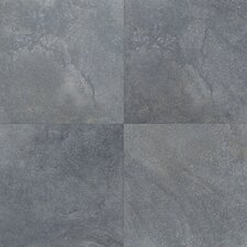 "Florenza 12"" x 12"" Plain Floor Tile in Azzurro"