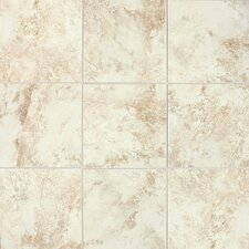 "Fantesca 18"" x 18"" Unpolished Field Tile in Chardonnay"