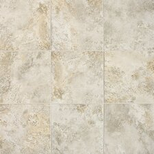 "Fantesca 18"" x 18"" Unpolished Field Tile in Pinot Grigio"
