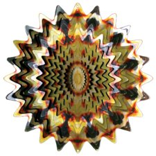 Designer Sunfire Splash Wind Spinner