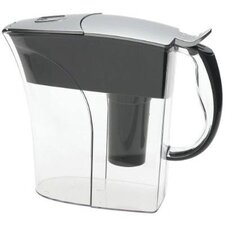 Rivera Water Pitcher in Chrome