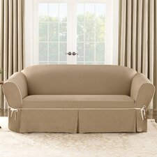 Cotton Duck Sofa Slipcover