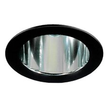 Recessed Housing Reflector with Black Trim Ring
