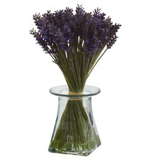 Lavender Bundle with Vase