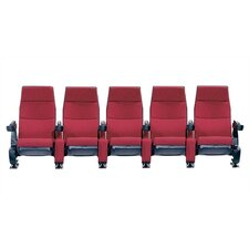 Regal Row of Five Rocker Home Theater Chairs