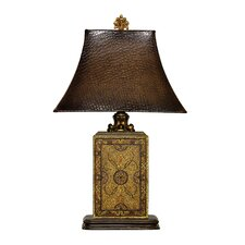 Embossed Block Table Lamp