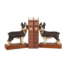 Boston Terrier Bookends (Set of 2)