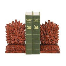 Floral Bookends (Set of 2)