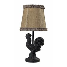 Mini Rooster Table Lamp