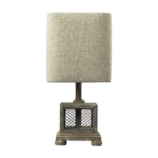 Chicken Wire Mini Table Lamp