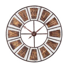 Wooden Outdoor Wall Clock