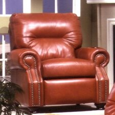 Impala Leather Club Recliner