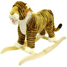 Tiger Plush Rocking Animal