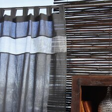 Biella Cotton Tab Top Curtain Single Panel