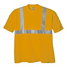 Large High Visibility ANSI Class 2 T-Shirt in Orange