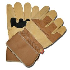 Premium Split Cowhide Leather Palm Gloves