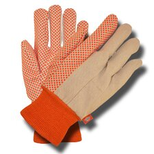 Blaze PVC Dots Cotton Gloves