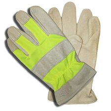 Hi-Vis Grain Pigskin Leather Gloves