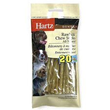Dental Rawhide Chew Stick Dog Treat (20-Pack)