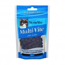 Chicken and Tuna Flavored Multi Vite Soft Chews for Cats