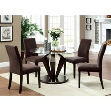 Crystal 5 Piece Dining Set