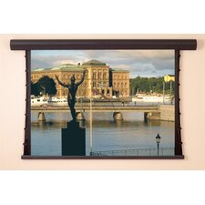 Silhouette/Series V AV Format Projection Screen with Low Voltage Conroller and Plug and Play