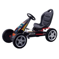 Superman Hurricane Pedal Go Kart
