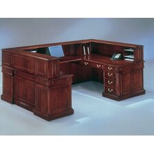 "Keswick ""U"" Reception Desk with Right Return"