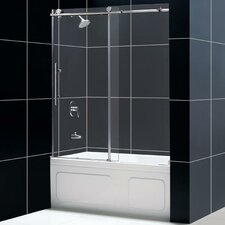 Enigma Fully Frameless Sliding Tub Door