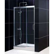Illusion Sliding Shower Door