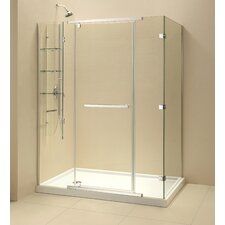 Quatra-X Frameless Pivot Shower Enclosure