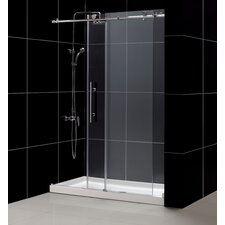 Enigma-X Shower Door and SlimLine Shower Base