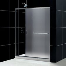 Allure Pivot Shower Door and SlimLine Shower Base