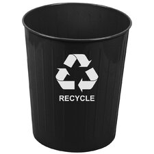 26 Quart Medium Round Recycling Wastebasket