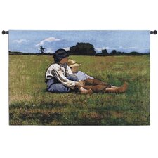 Boys In the Pasture Tapestry