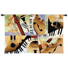 Jazz Medley I Tapestry  - Tom Grijalva