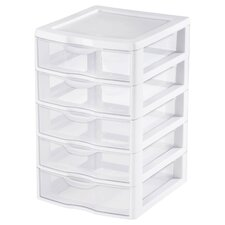 5 Drawer ClearView™ Storage Unit
