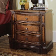 Brentwood 3 Drawer Nightstand