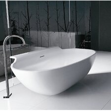 "PureScape 71"" x 36"" Freestanding AquaStone Bathtub"