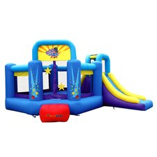 Pop Star Slide Bounce House