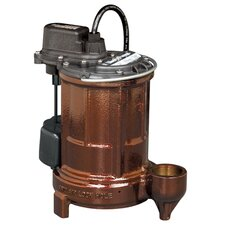 1/3 HP Cast Iron Submersible Sump Pump